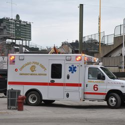 Ambulance 6 going out on a run -