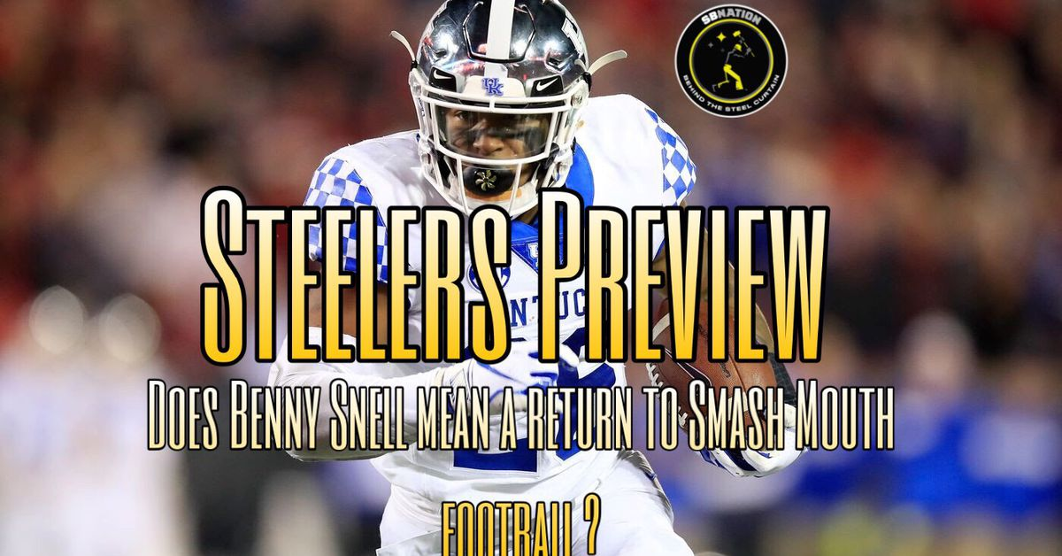 Podcast: Does Benny Snell Jr. equate to the return of smash mouth Steelers football?