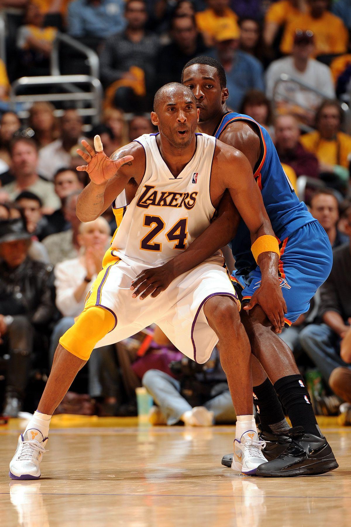 Oklahoma City Thunder v Los Angeles Lakers, Game 1