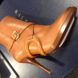 Leather boots, $285