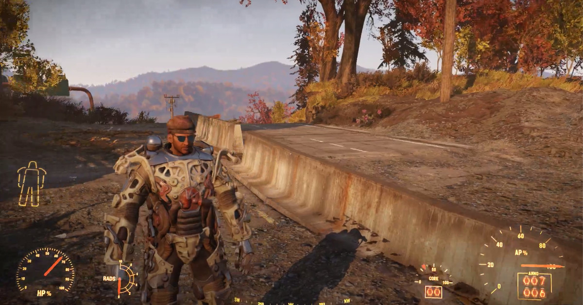 Find easy Power Armor in Fallout 76 Polygon
