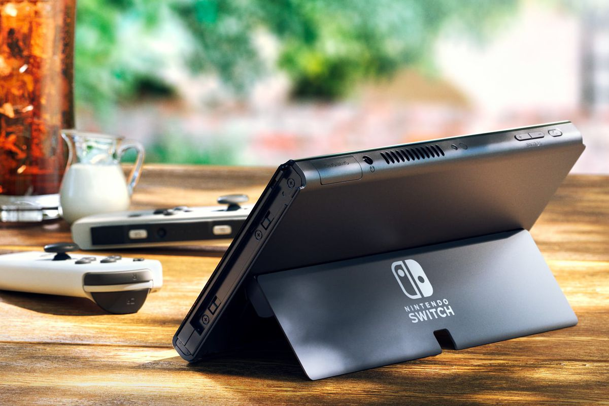 Nintendo Switch with OLED screen
