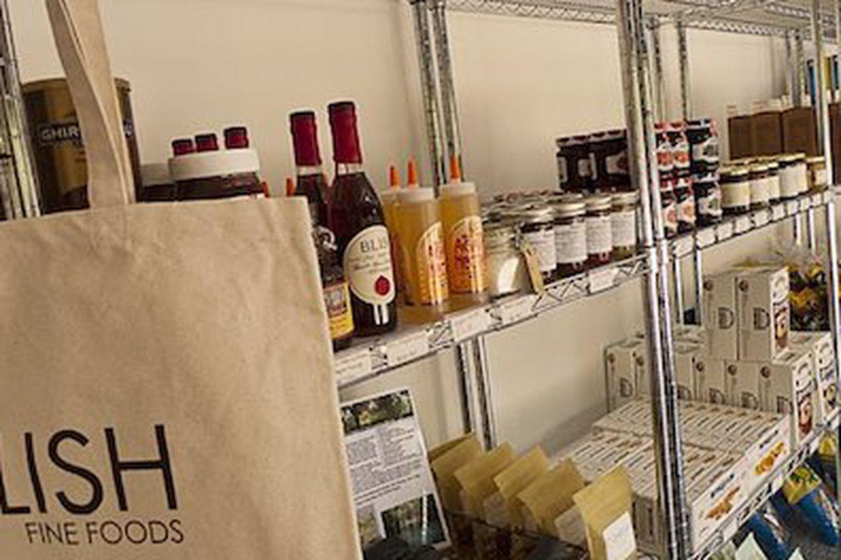 Inside Relish Fine Foods.