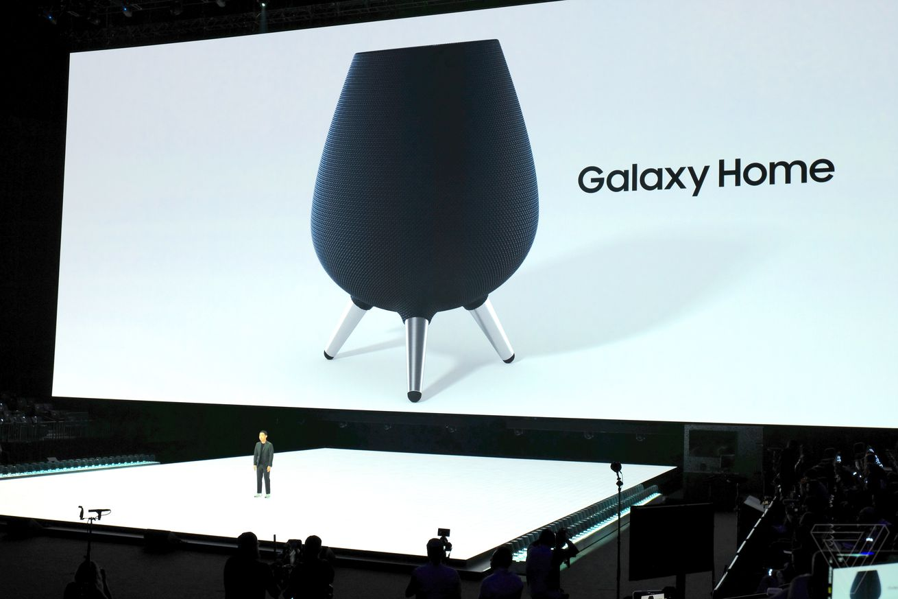 samsung announces galaxy home speaker with bixby smart assistant