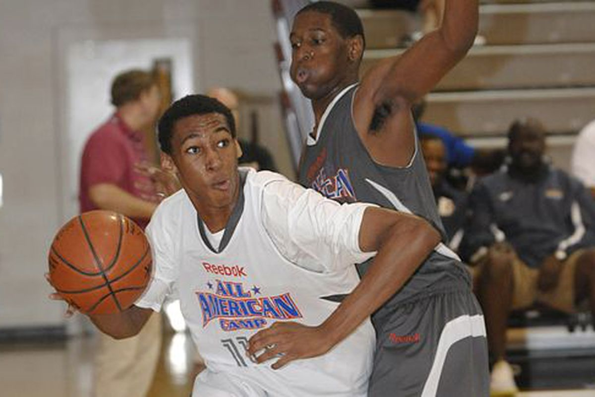 """He's been described as a """"tremendous athlete,"""" with an """"incredible wingspan,"""" and a """"young Marcus Camby.""""  Sign him up."""