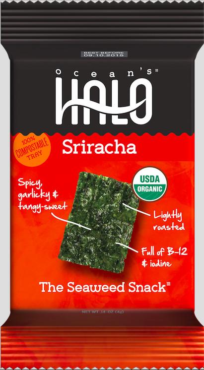 Sriracha seaweed - yummy!