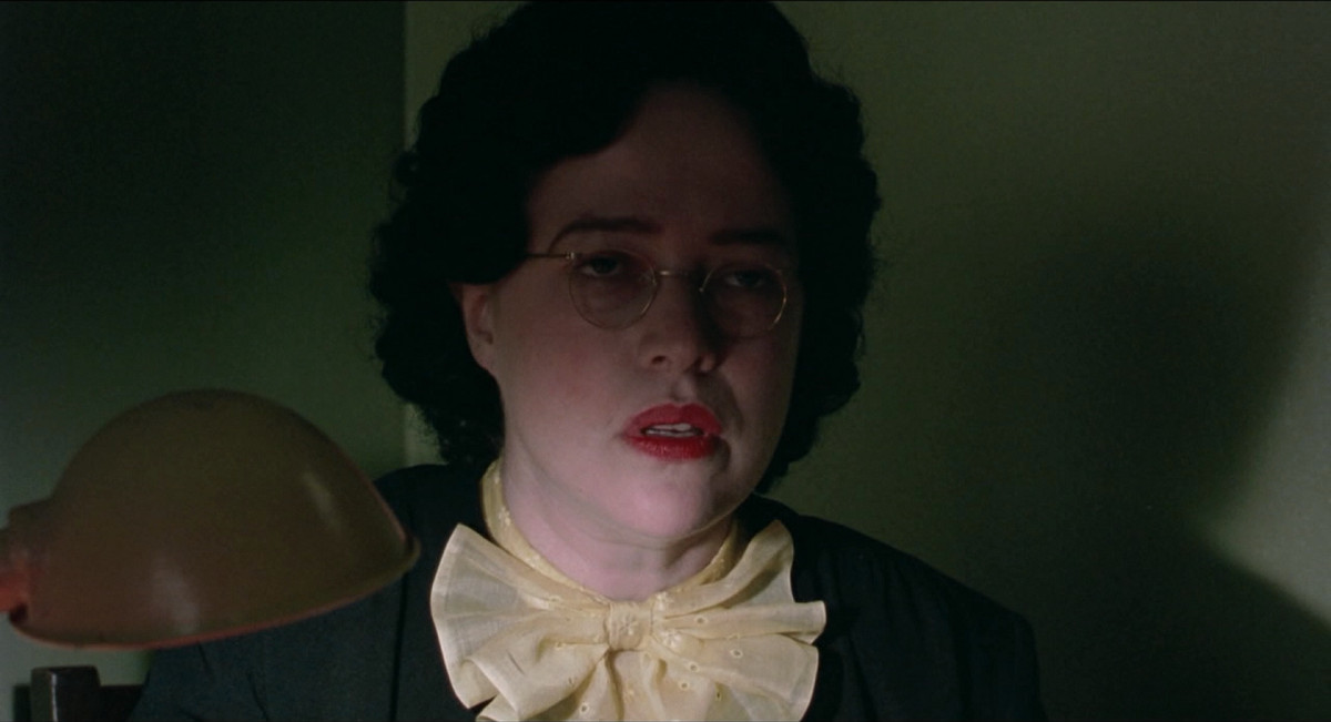Kathy Bates in Dick Tracy.
