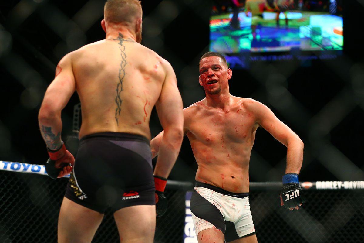 Nate Diaz On Spoiling Gsp Vs Mcgregor Lol Motherf Rs Bloody Elbow