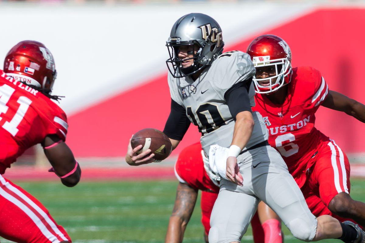 NCAA FOOTBALL: OCT 29 UCF at Houston