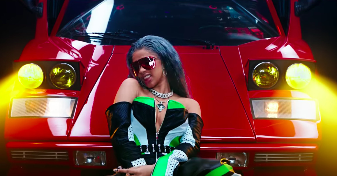 Electric Ride On Cars >> The video for Motorsport has Nicki Minaj, Cardi B, and flying Lyfts - The Verge