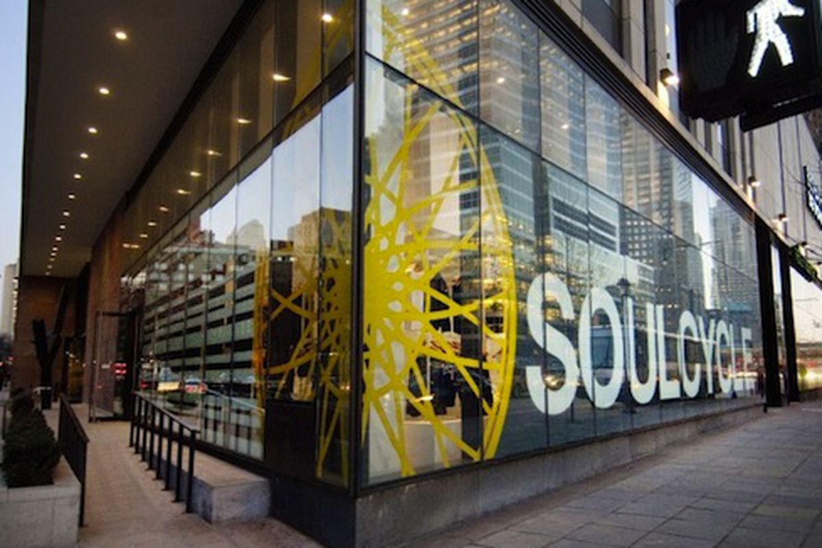 """SoulCycle in Tribeca via <a href=""""http://www.dnainfo.com/new-york/20120119/manhattan/new-years-resolutionaries-face-off-against-fitness-stalwarts-gym-rush/slideshow/popup/150415"""">DNAinfo</a>"""