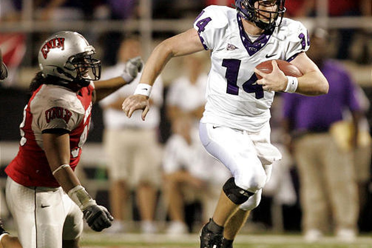 Quarterback Andy Dalton is one of the reasons TCU is expected to vie for the MWC title.