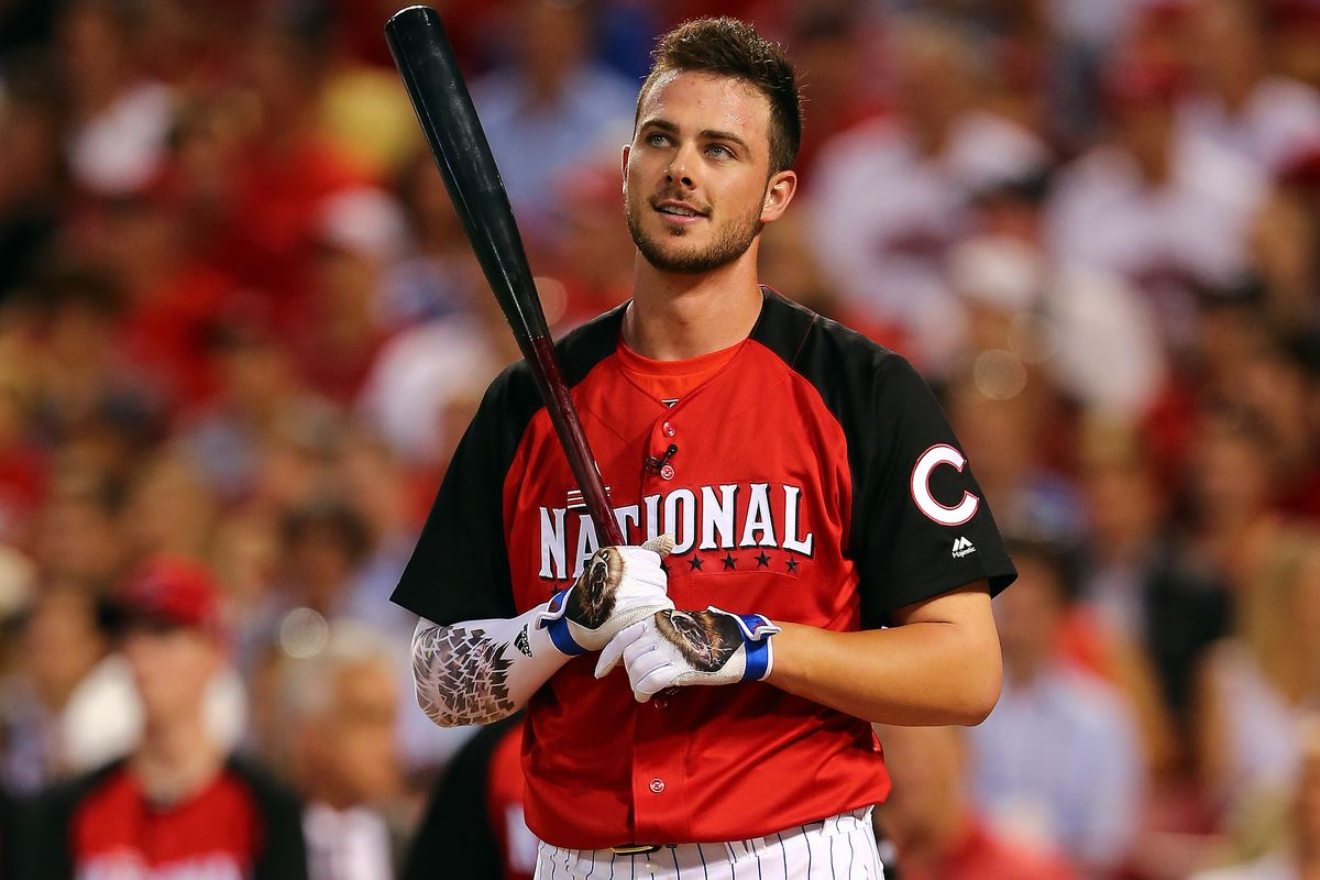 The system isn't nice enough to give us a photo of Billy McKinney, so here's his potential future teammate Kris Bryant instead.