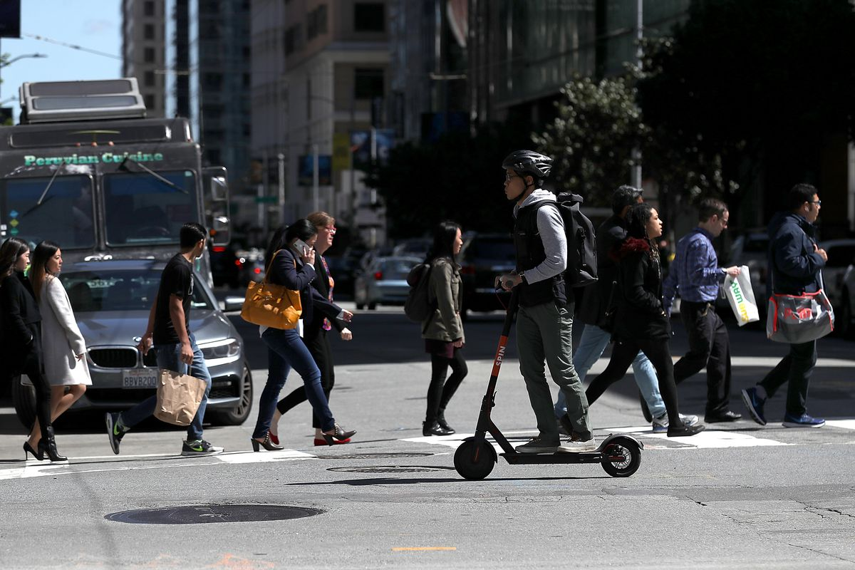 Scooter Rental San Francisco >> Electric Scooters San Francisco Orders Them Off Sidewalks And