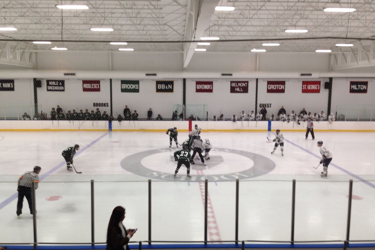 Brooks was home to one of two overtime games in prep playoff hockey action Wednesday.