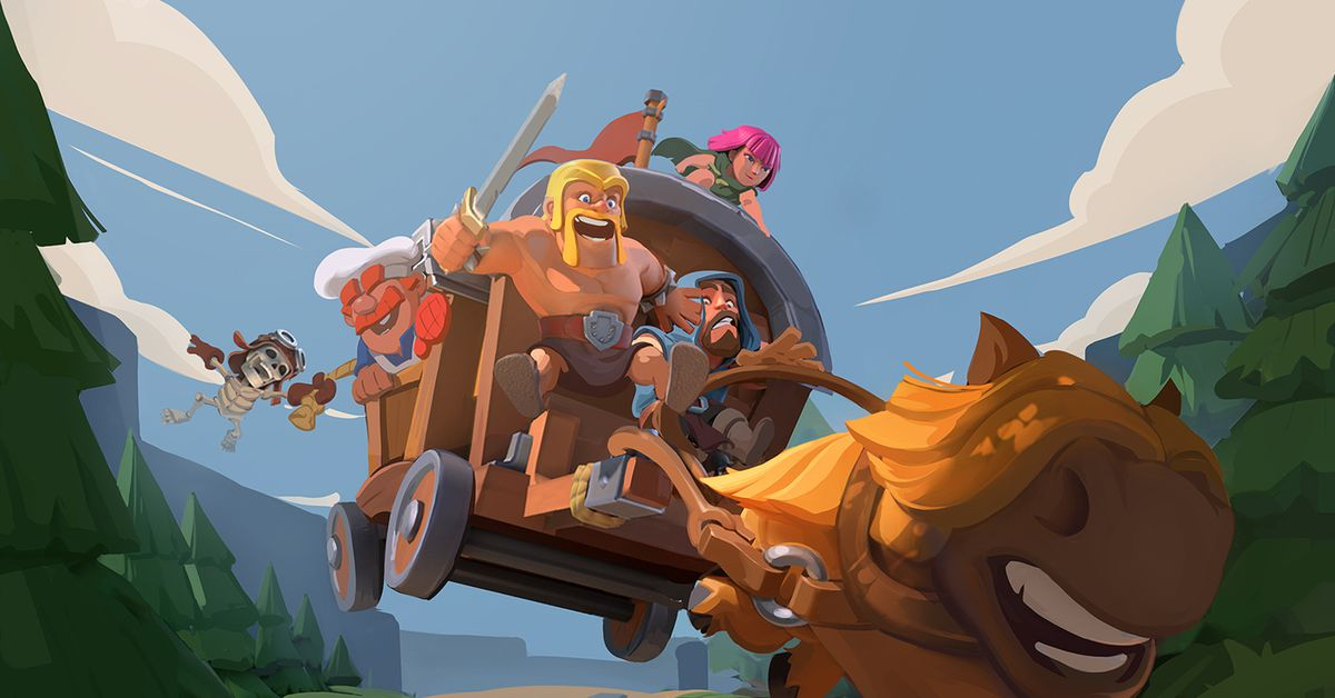 Supercell is making three new Clash of Clans games to further expand its fantasy universe