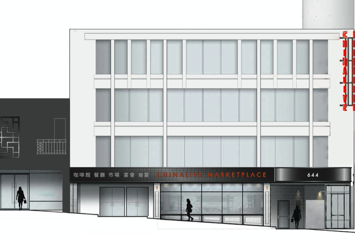 A rendering of the outside