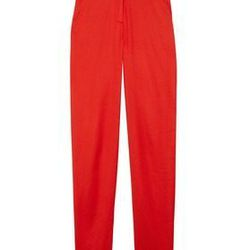 """<a href=""""http://www.net-a-porter.com/product/198426"""">Cropped stretch-sateen twill tapered pants by <b>T by Alexander Wang</b>,</a> $98 (were $245)"""