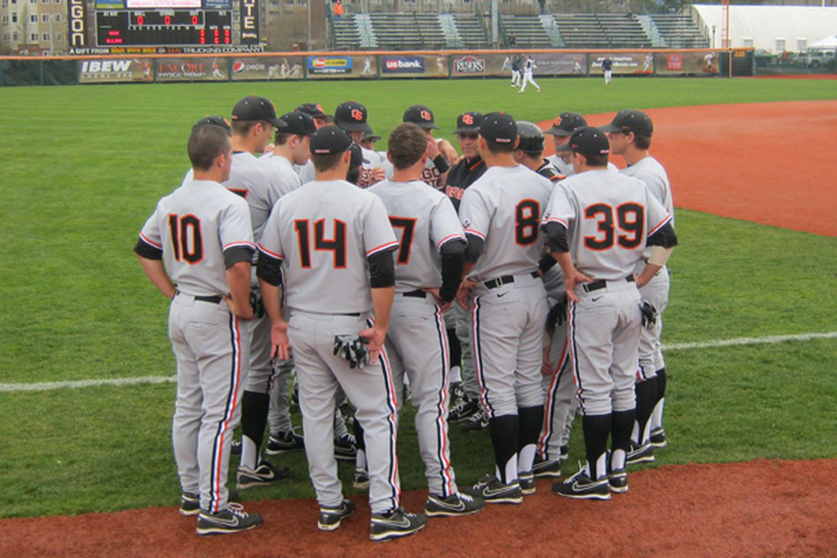 Oregon St. will try to figure out how to sweep the extended weekend in Palm Springs this morning.