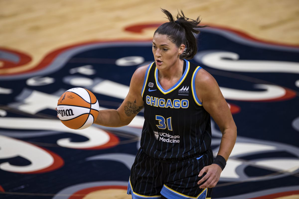 Stefanie Dolson first played with the USA National Team in 2013 while she was in college playing for Geno Auriemma at UConn.