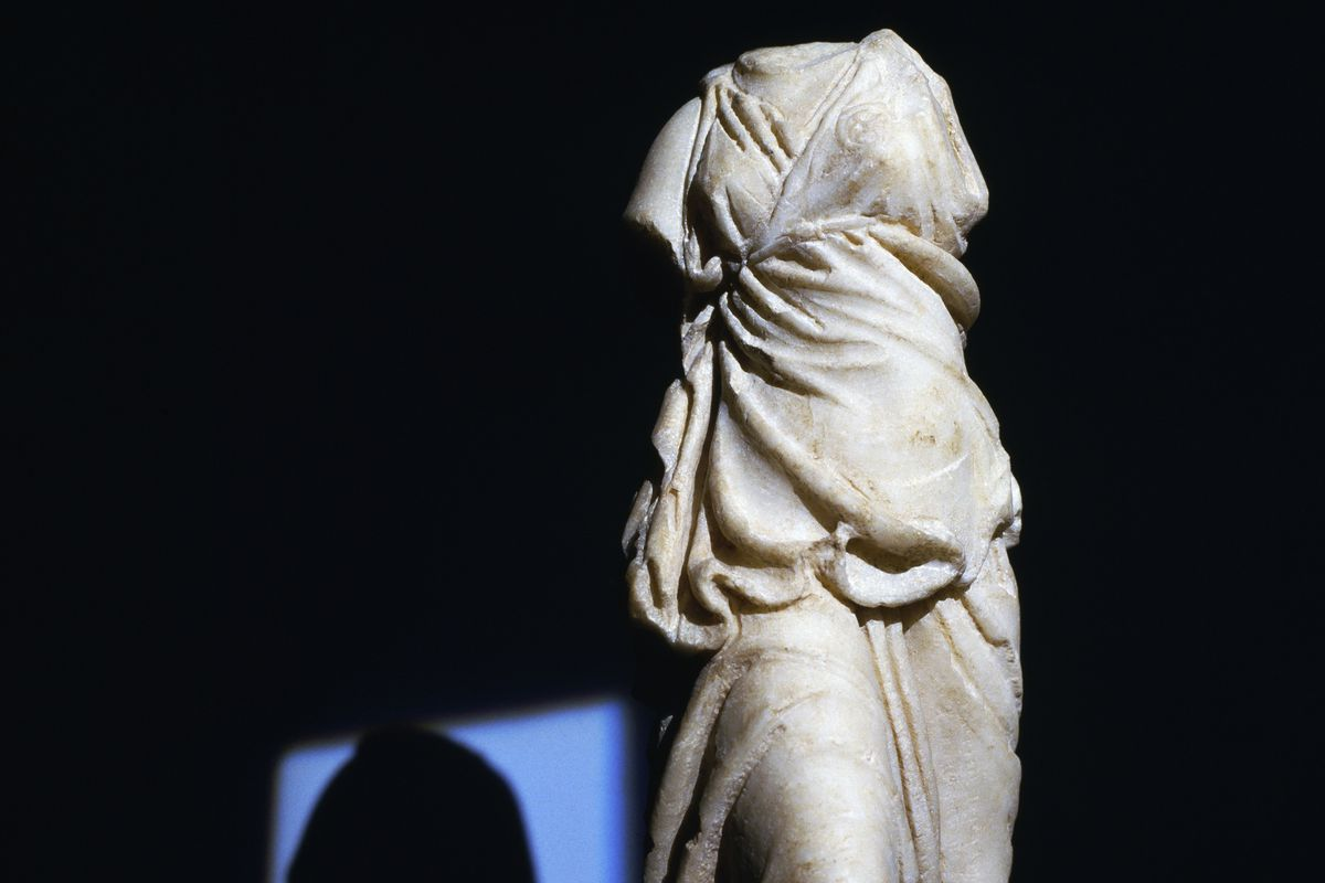 Historically Men Translated The Odyssey Heres What Happened When  A Marble Statue Of The Goddess Athena Discovered In  In Athens  Deaarchivio J Langecontributorgetty Images Topic For English Essay also An Essay On Science  Health And Wellness Essay