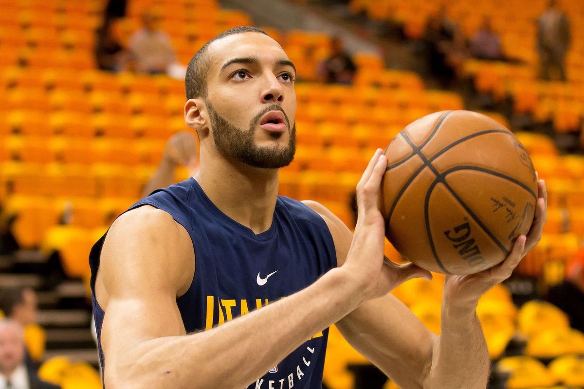 The Christmas Gift.The Christmas Gift Only Rudy Gobert Could Give Slc Dunk