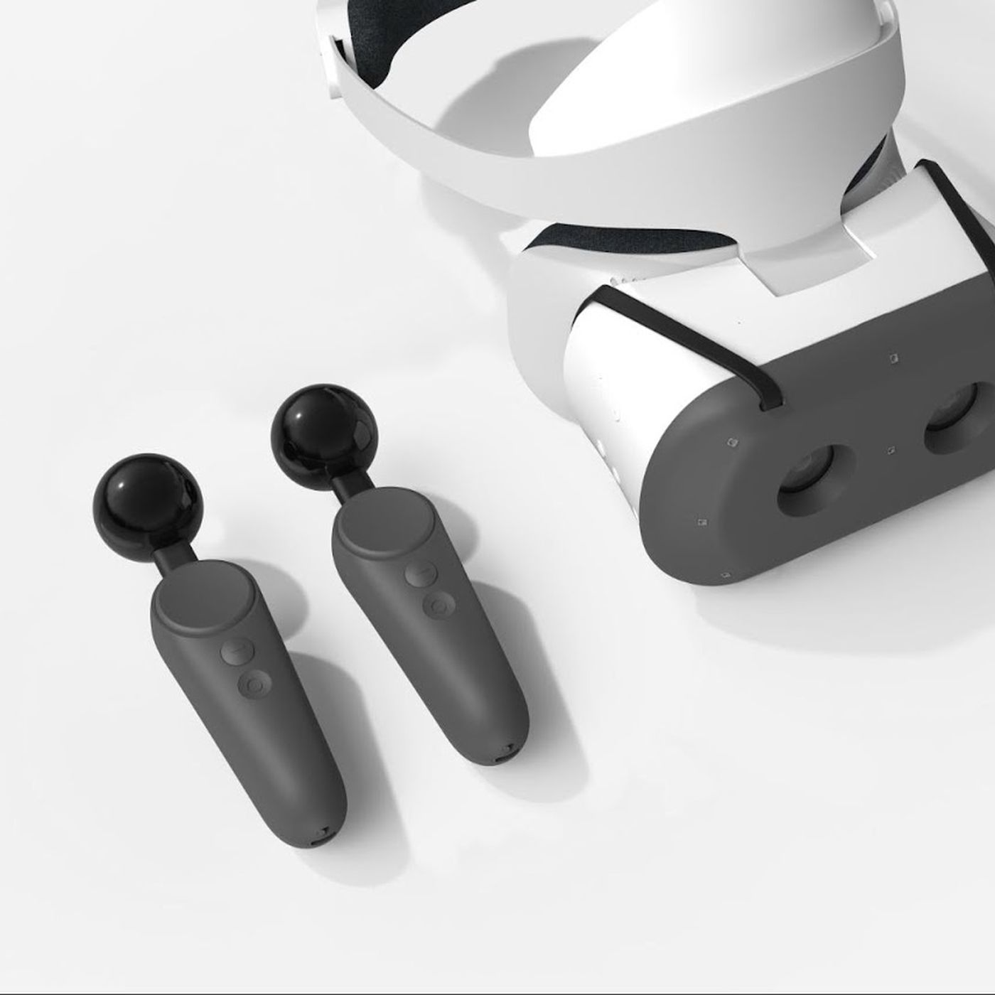 Google built VR motion controllers for the Lenovo Mirage