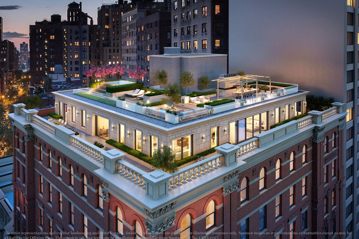 Upper West Side Penthouse Overlooking American Museum Of