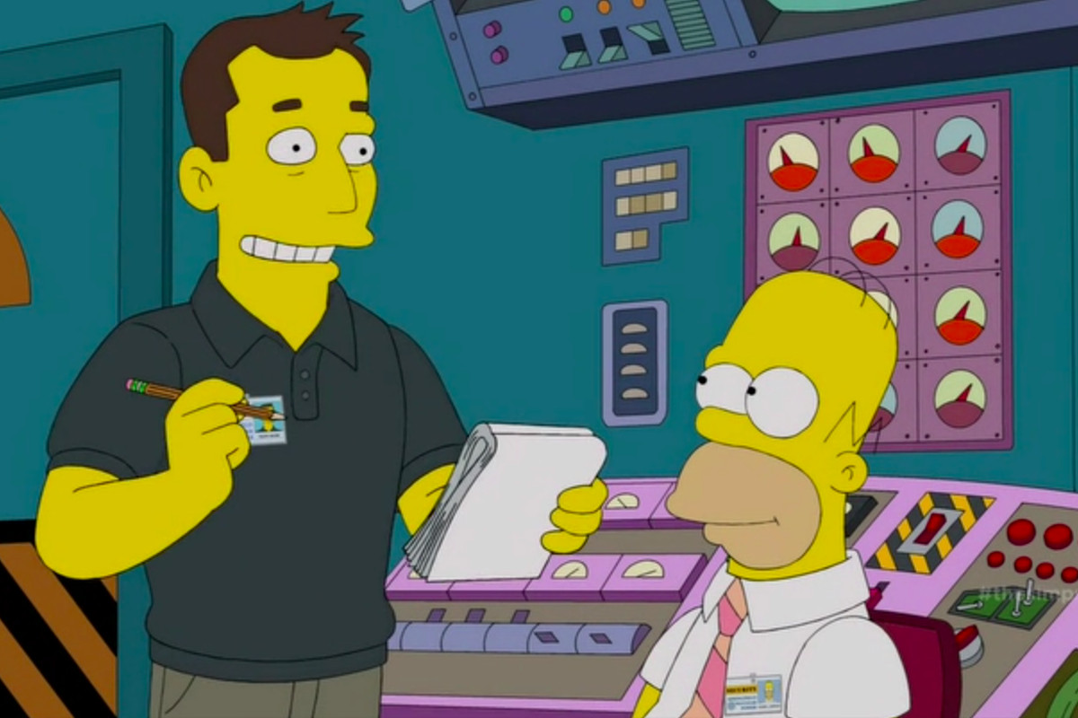 Elon Musk Debunks Electric Space Rockets After Simpsons Lampooning Pokemon X Electrical Plant On The Last Night And Jetted Off At End Of Episode In His Dragon Spacecraft Lisa Points Out That For A Man Who Likes