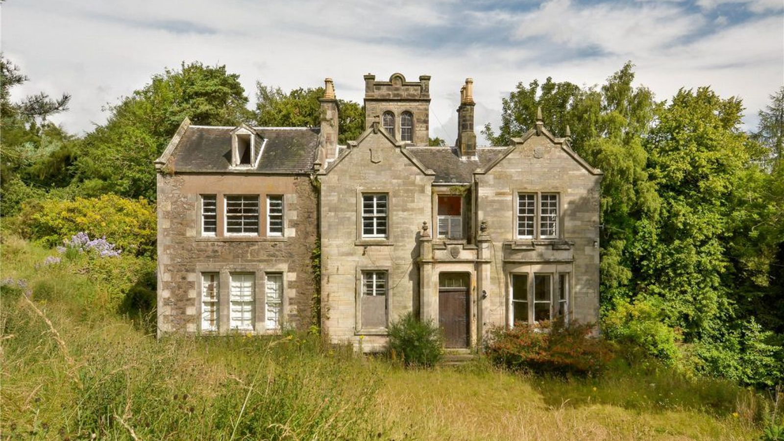 Scottish country house is the ultimate fixer upper for for New zealand mansions for sale
