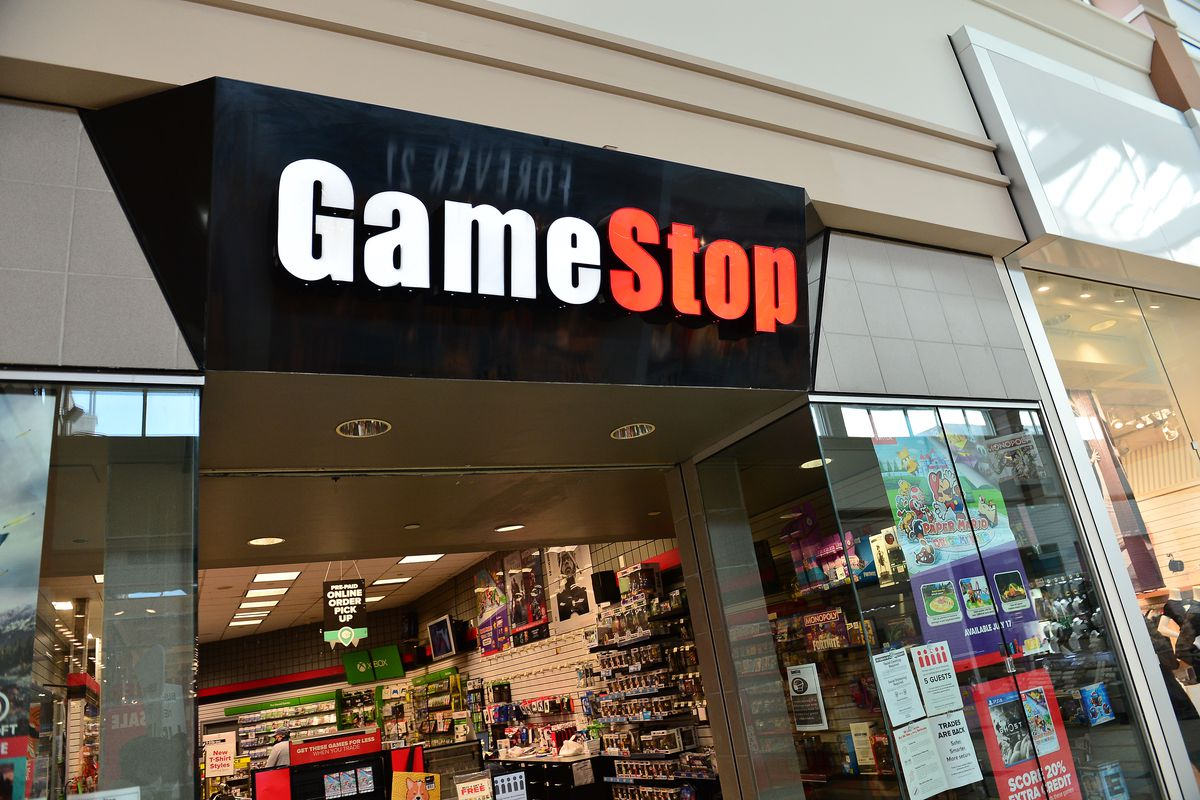 GameStop stock halted trading briefly Friday