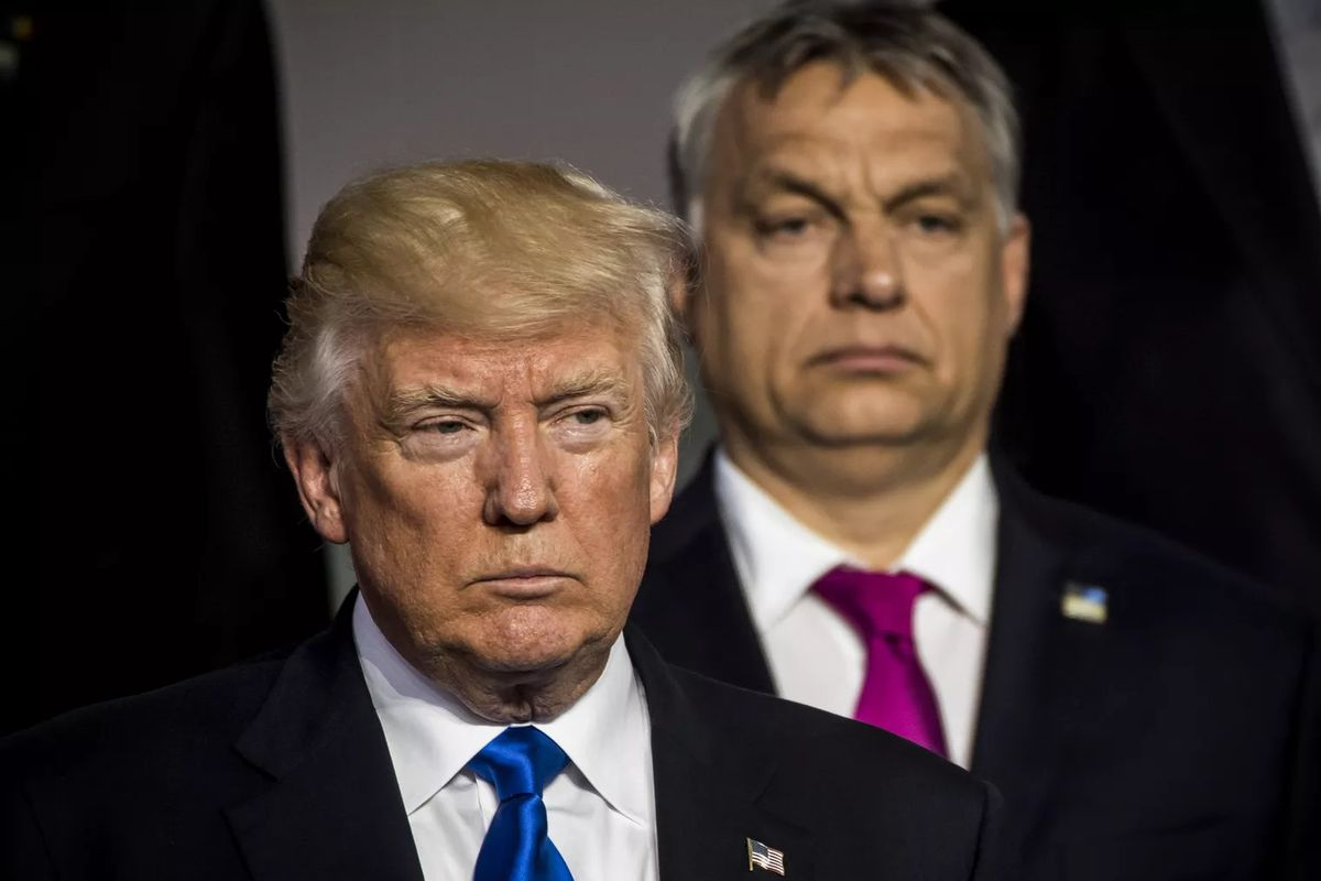 Viktor Orbán White House: Trump welcomes a kindred