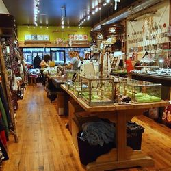 """Yes, Verde's glittery jewelry and accessories will bring out your inner magpie, but you're here for the <a href=""""http://marcieblaine.com/"""">Marcie Blaine</a> chocolates, made within the chocolate kitchen at the rear of the store. Pick up a <a href=""""http://"""