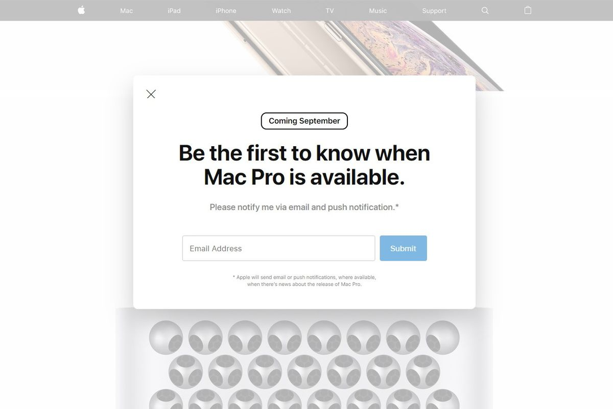Apple's website says the Mac Pro will come out in September - The Verge