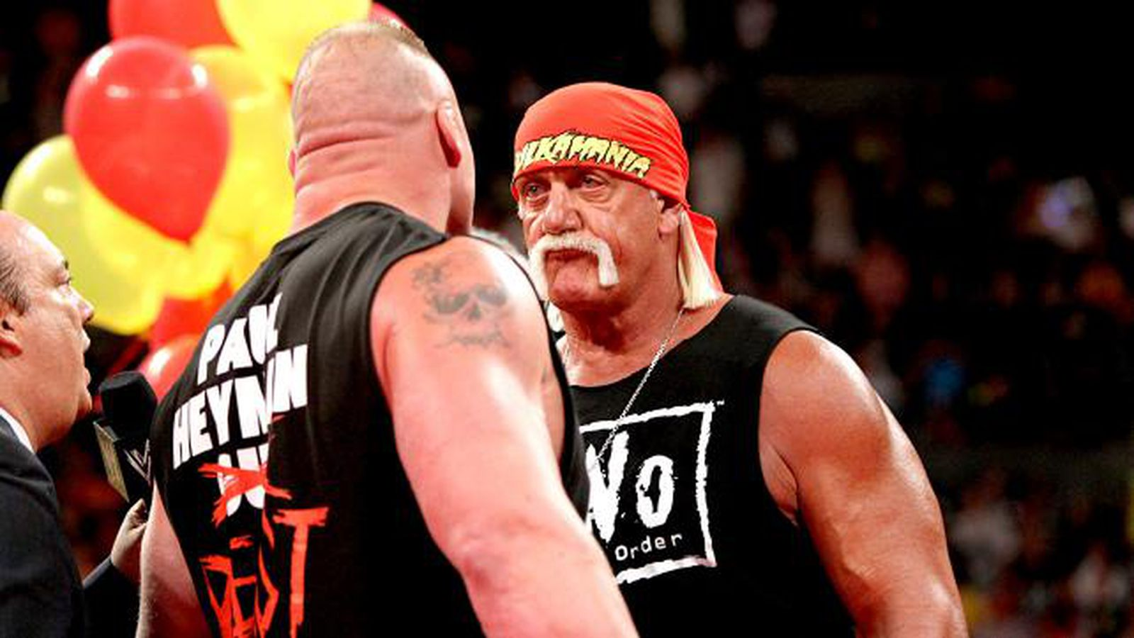 Hulk Hogan Talking Up Issues With Brock Lesnar Over