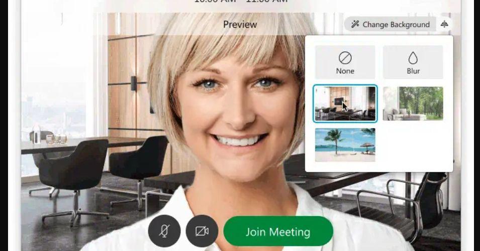Phần mềm hội nghị truyền hình Webex của Cisco hiện cho phép bạn đặt nền ảo