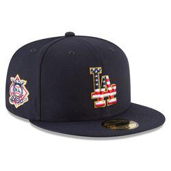 Dodgers July 4 cap