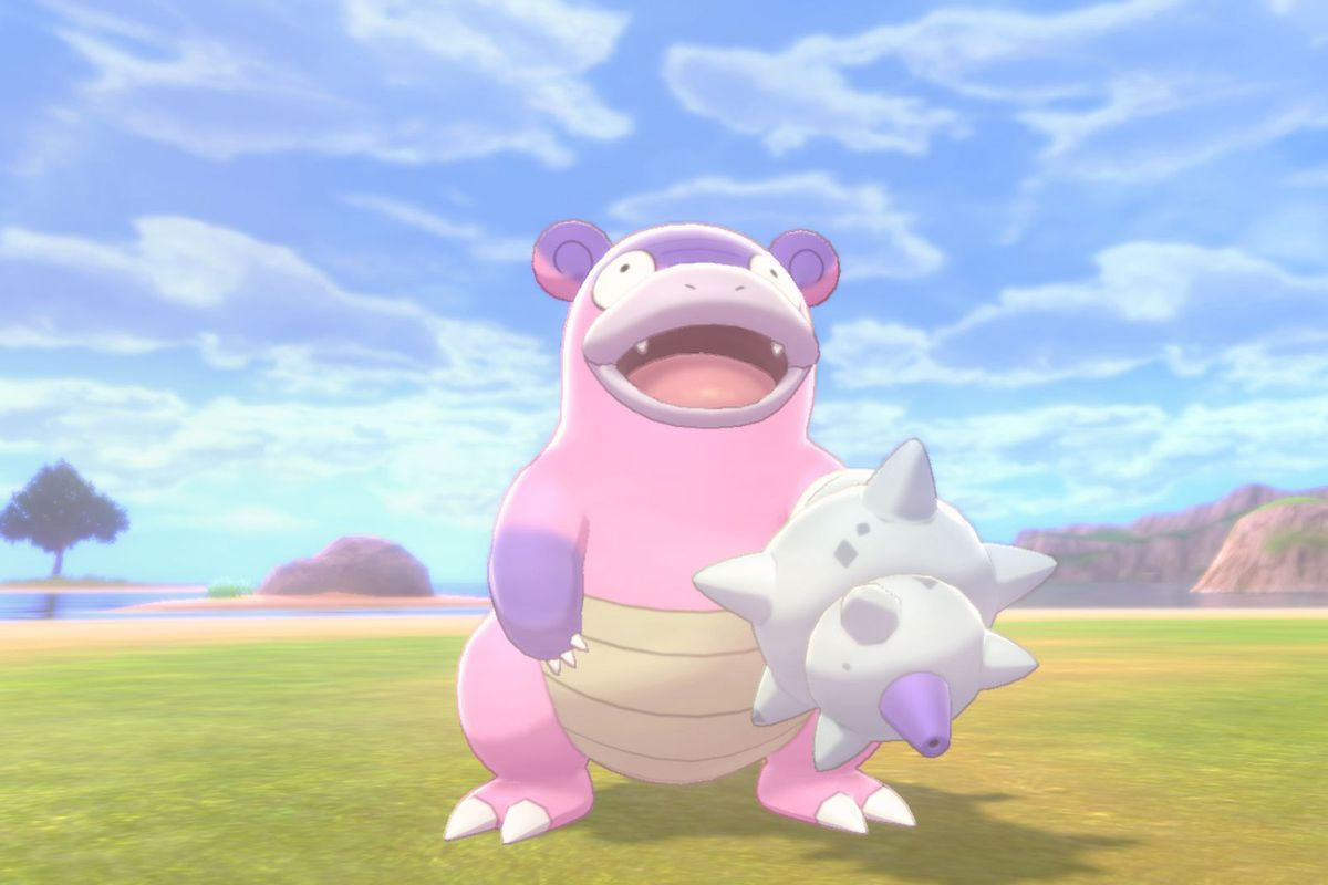 Slowbro in Sword and Shield.