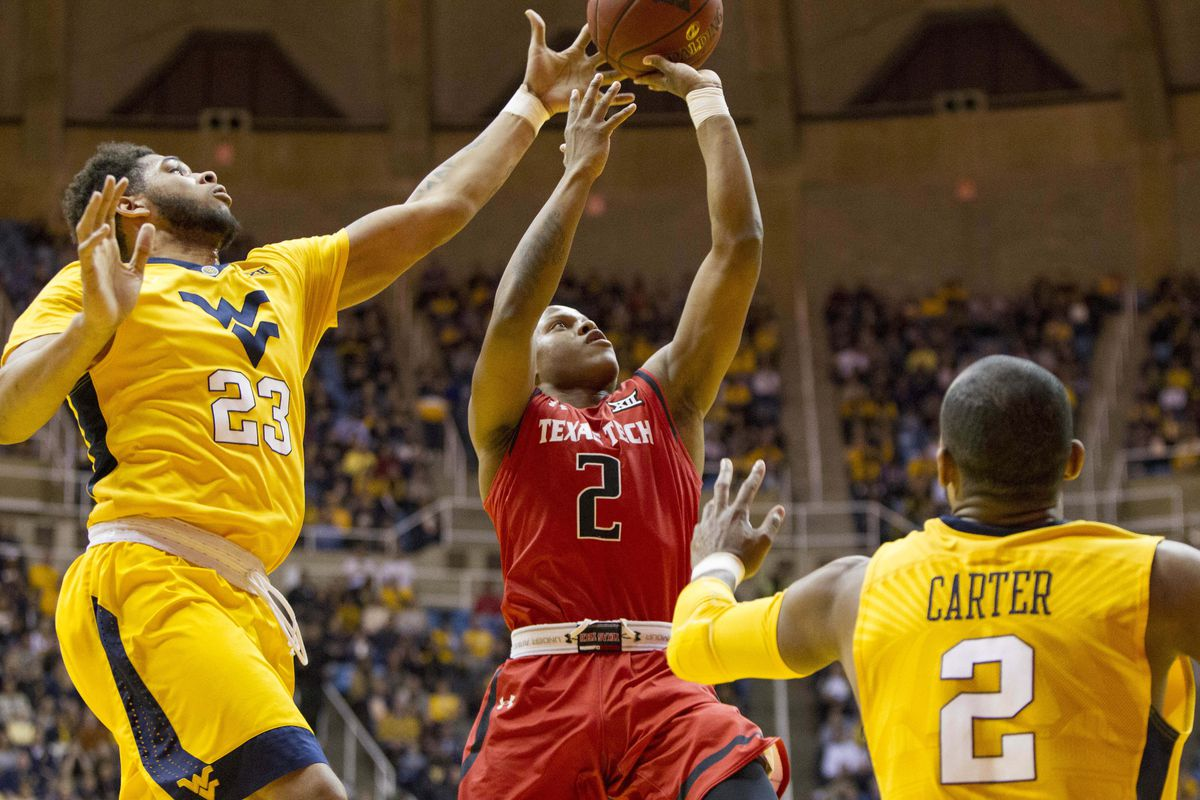 Image result for texas tech vs west virginia basketball
