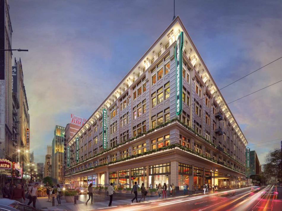 Future rendering Broadway Trade Center<br>