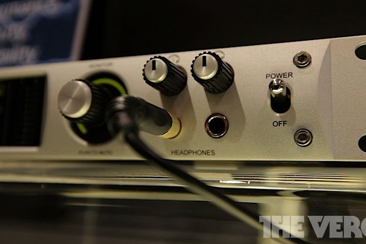 Gallery Photo: Universal Audio announces Apollo audio interface with effects processor