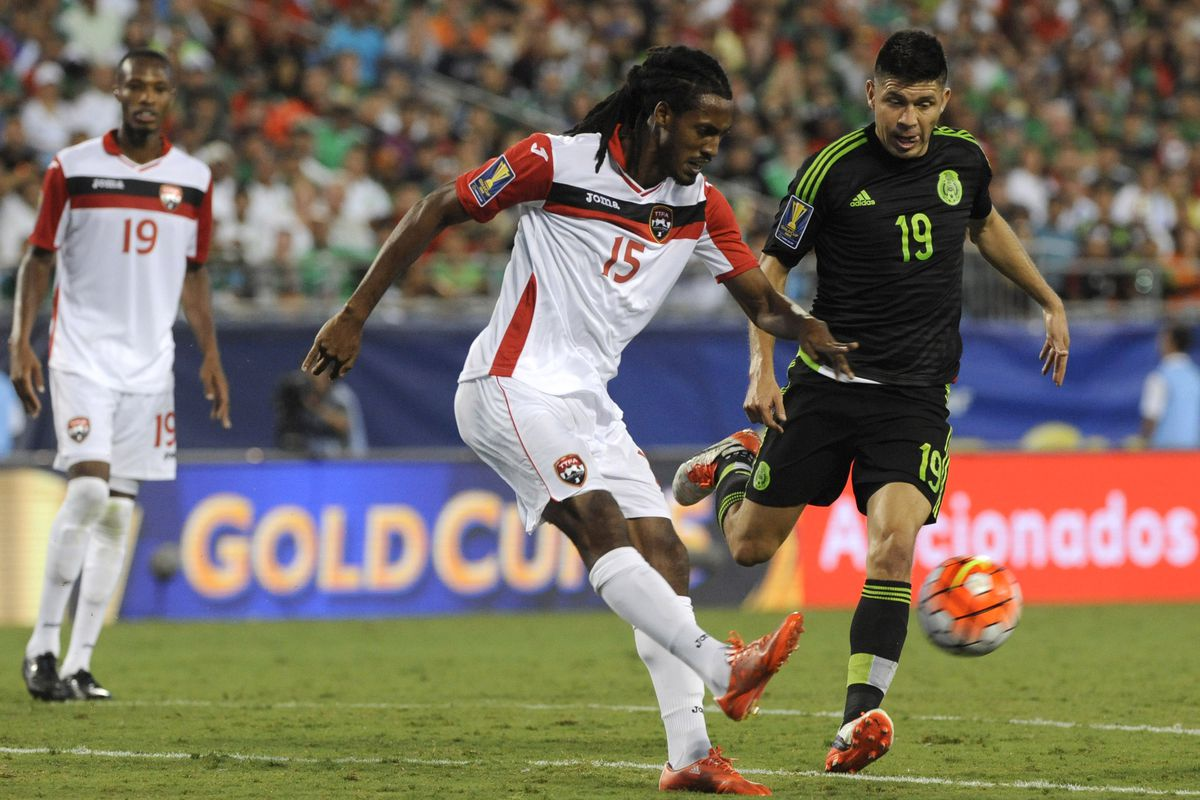 Trinidad and Tobago and Mexico played to an exciting 4-4 draw in Group C play Wednesday night.