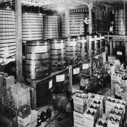 The former Pelligrini facilities in San Francisco, 1950s.