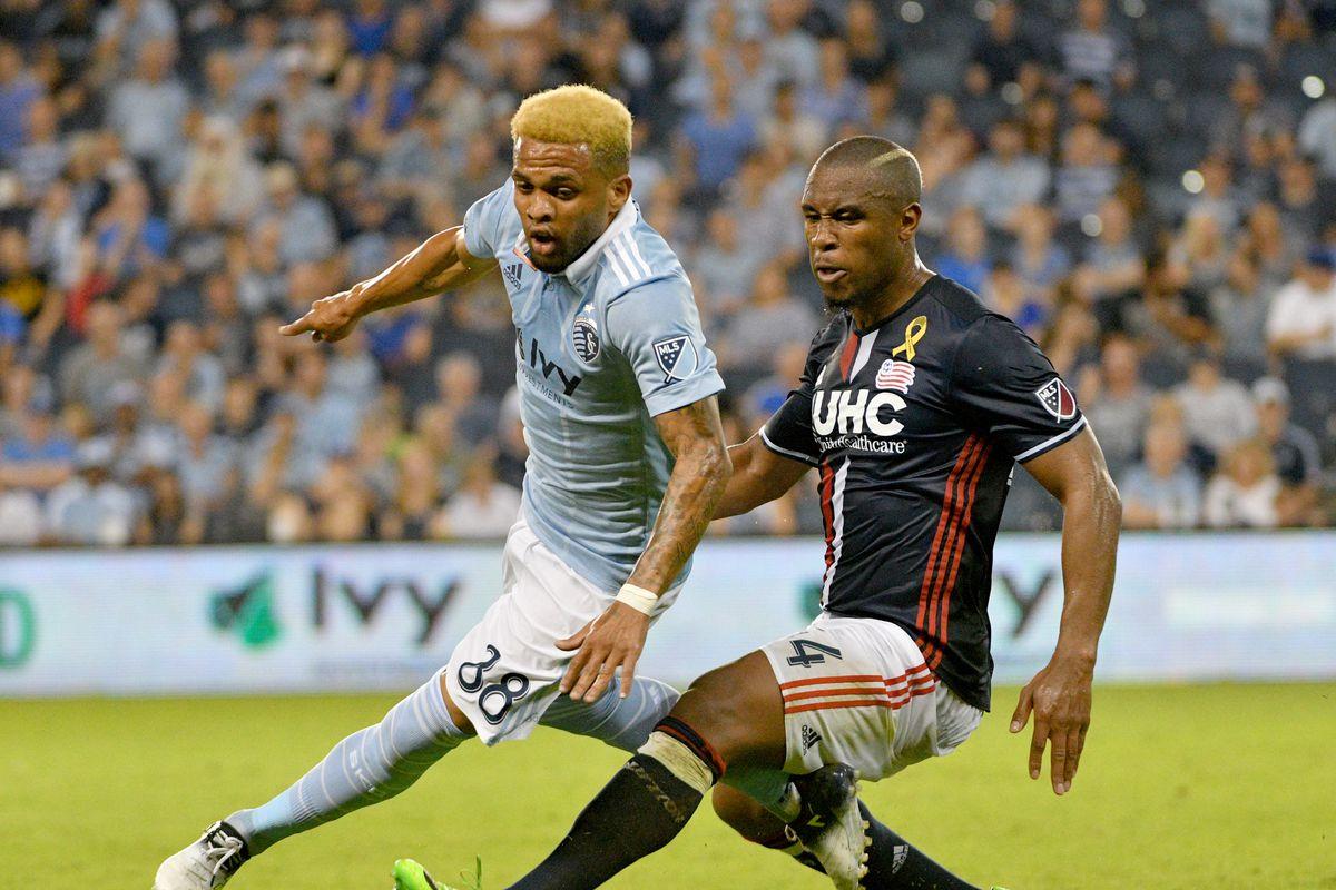MLS: New England Revolution at Sporting KC