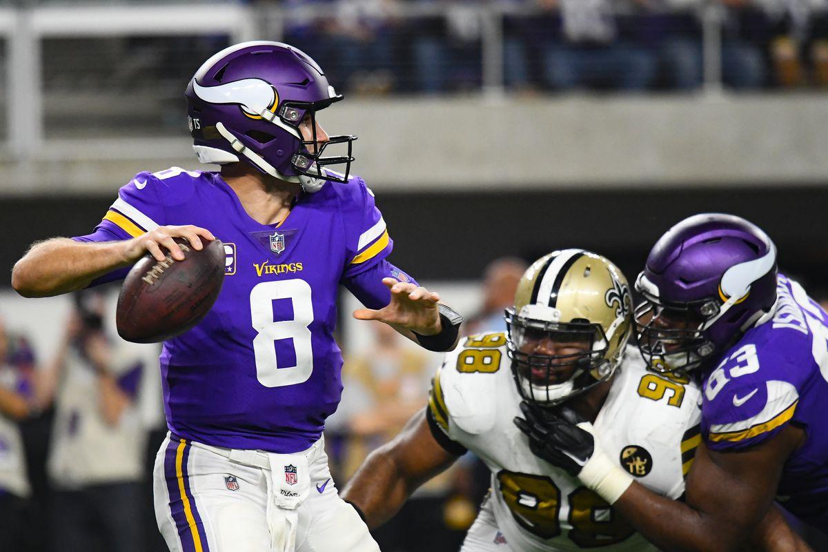 NFL: OCT 28 Saints at Vikings