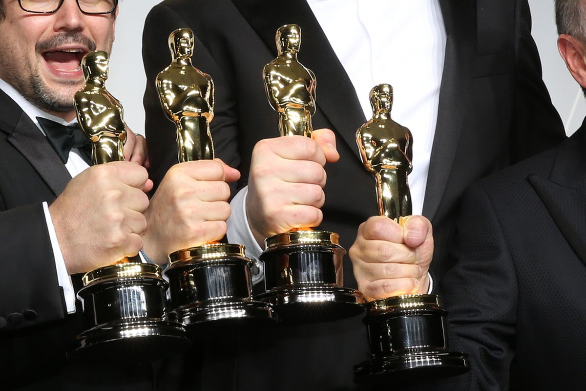 The Oscar nominations are announced tomorrow. Try to contain your excitement.
