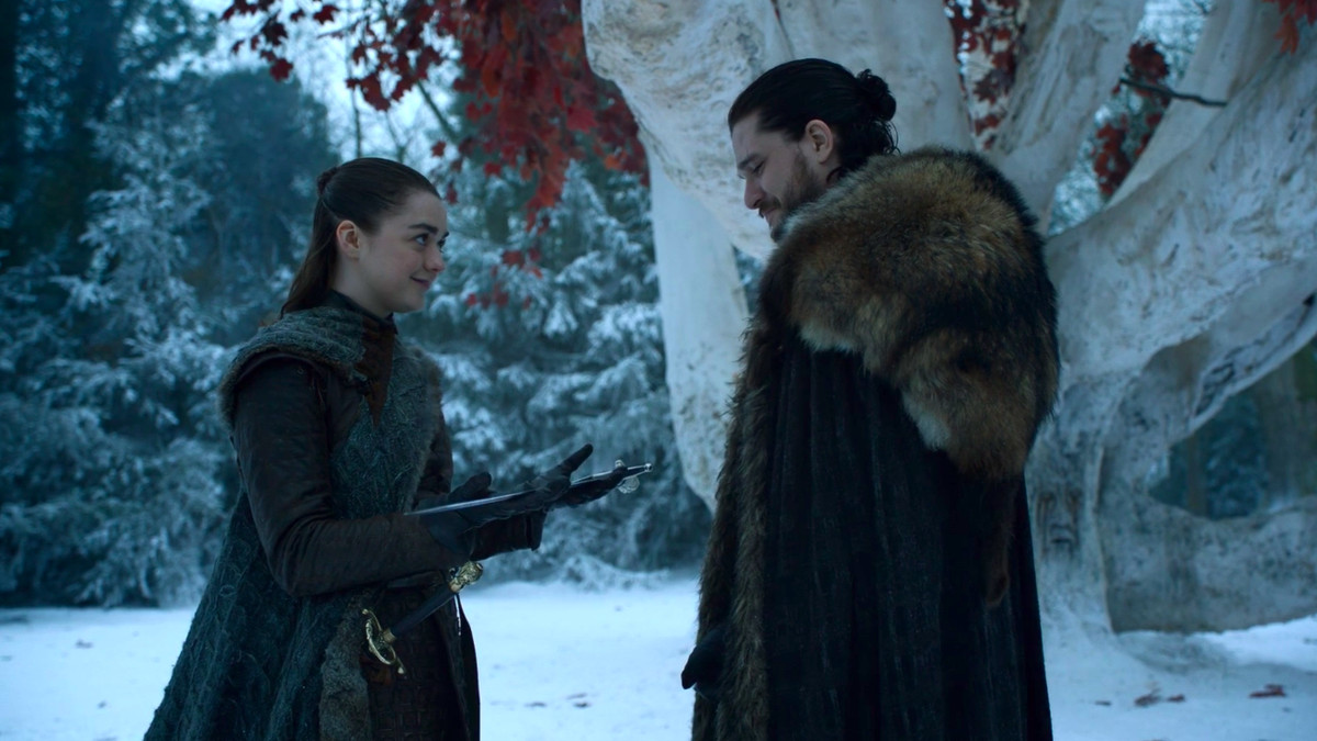 Game Of Thrones Books Give Greater Meaning To Jon And Arya S
