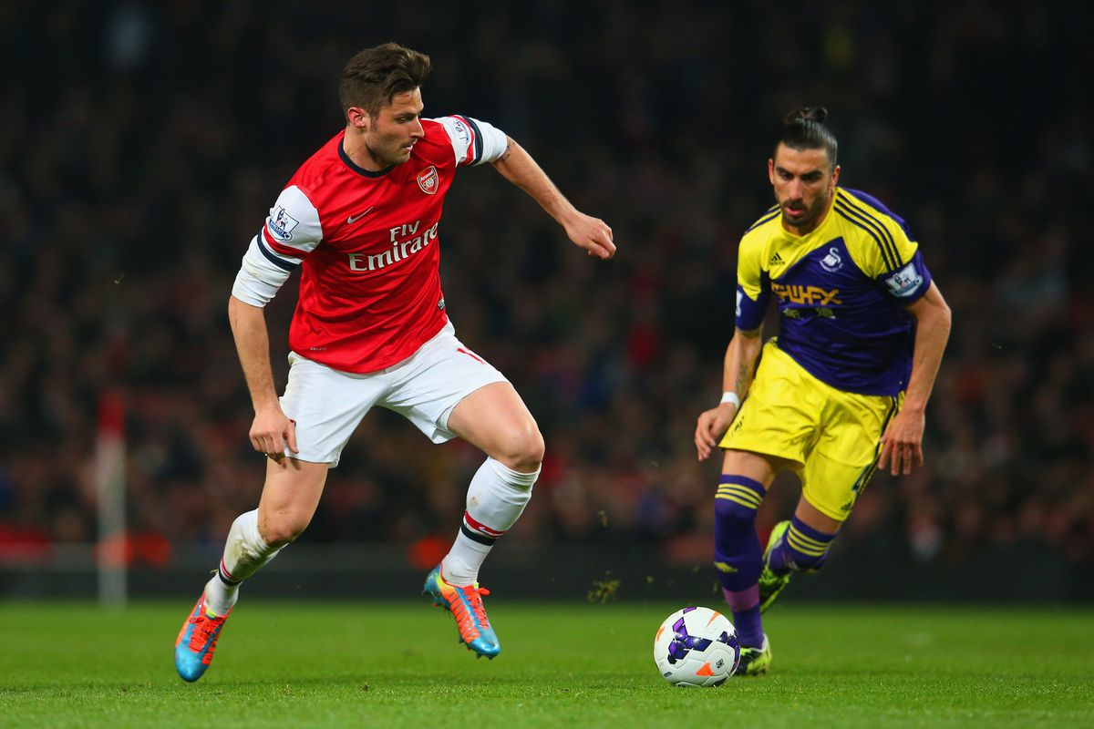 Giroud's apparently staying -- but will another striker join him?