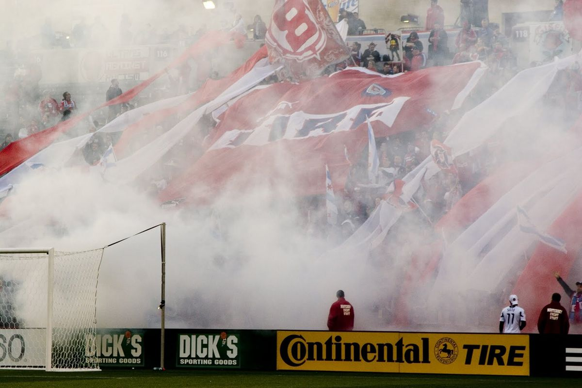 Section 8 supporters have some of the most affordable seats in the league - just don't complain about standing, or smoke, or an occluded view.