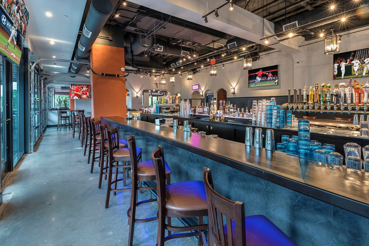 Mission Navy Yard Boasts A 150 Foot Bar Reportedly The Longest In City Official Photo